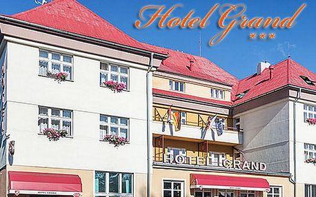 4denní pobyt V Hotelu Grand, Doksy za 1795 Kč!