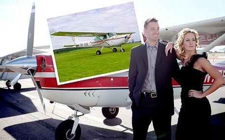 Romantický let pro dvě osoby!