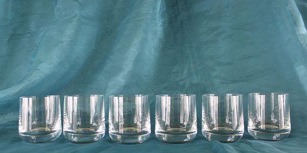 Skleničky na Whisky / Koňak - český výrobek, 6ks