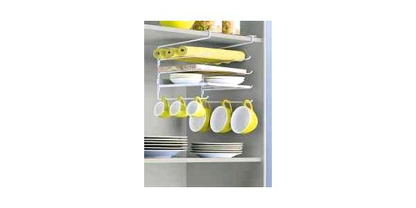 Závěsný organizér nádobí do skříně, sleva 70%!