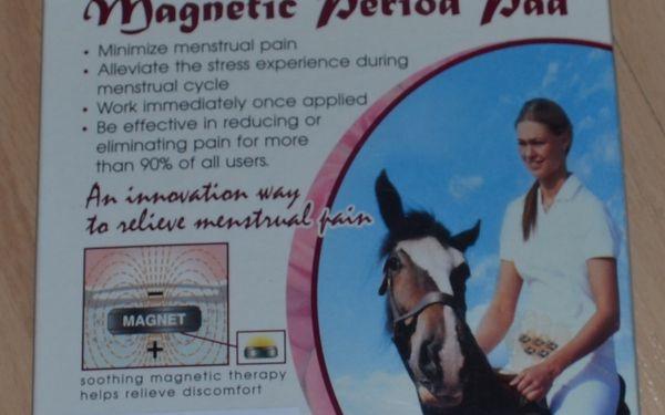 Magnet pro zbavení se menstruační bolesti