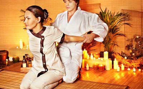 Thajská olejová masáž + sauna | Salon Thajka - Hotel Mánes