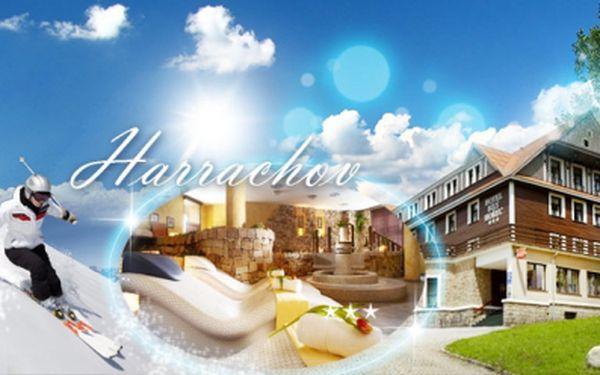 Luxusní tři dny s wellness přímo u skiareálu harrachov, s plnou penzí ve spa hotel bílý hořec***! Neomezený vstup do římských lázní! Jen 1380 kč za osobu! Za dva vouchery pátá noc zdarma! Sleva 50%! Platnost do prosince 2014!