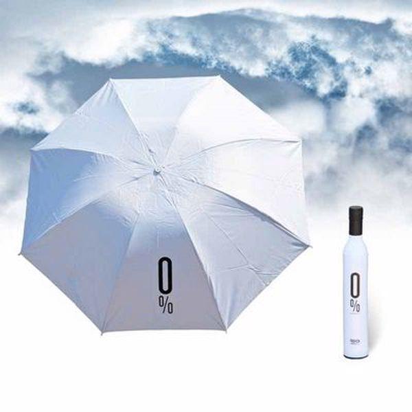 Deštník ve tvaru alkoholové lahve Vám budou všichni závidět!