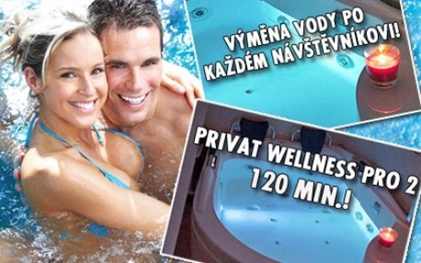 120 min. luxusní privátní WELLNESS pro DVA! Whirlpool s výměnou vody pro každého návštěvníka! Přijďte se uvolnit a odpočinout si do známého studia MMSU na P-8 kousek od metra Palmovka!!