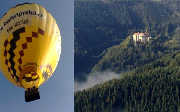 Letenka do balónu - skvělý zážitek, perfektní dárek za 2999 Kč až do konce roku 2014
