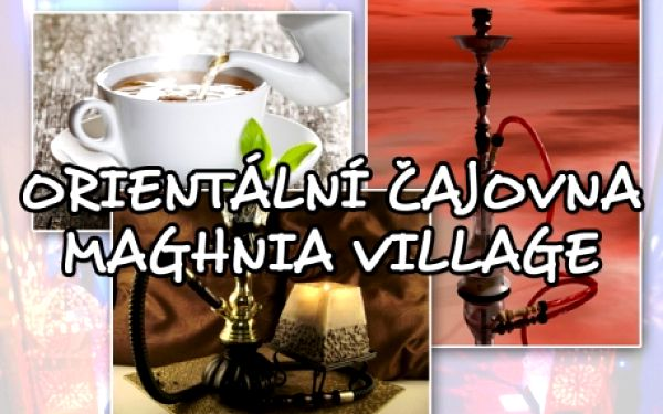 Luxusní VODNÍ DÝMKY Al Fakher a nápoje dle vašeho výběru v jedné z nejlepších čajoven v Praze! Maghnia Village na Janáčkově nábřeží na Praze 5 pár kroků od Anděla! Sleva na celé menu! Poznejte tajemství a chuť Orientu!!