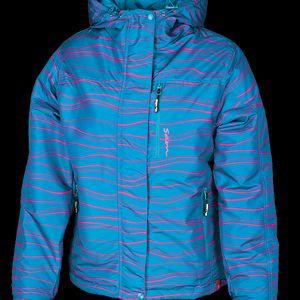 Dámská zimní bunda SAM 73 WBA 192 230 s nastavitelným spodním lemem bundy