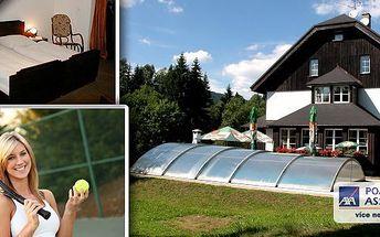 Hotel Konšel - malebné Orlické hory!Pobyt na 3 dny pro 2 s polopenzí! Zdarma hotelový bazén a tenisový kurt! Sportovci si užijí - horská kola, petangue, badminton či třeba relax v sauně! To vše na Vás čeká uprostřed krásné přírody!