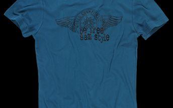 Přiléhavé pánské tričko SAM 73 MT 355 230 ze 100% bavlny