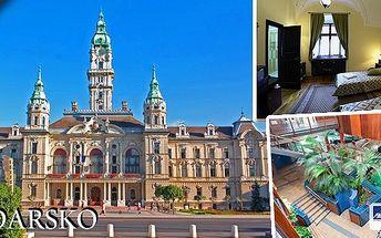 Třídenní pobyt pro 1 osobu v maďarských lázních Györ. Vstupenka do lázní v ceně, ubytování v 3* hotelu Klastrom včetně bohatých snídaní. Užijte si báječný relax a obdivujte nádherné historické centrum jednoho z největších maďarských měst.