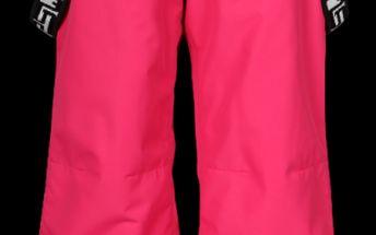 Zářivé dívčí lyžařské kalhoty SAM 73 GK 23 116