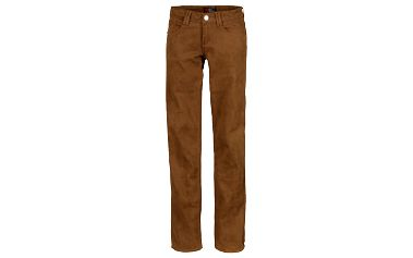 Dámské tmavě okrové džíny SAM 73 WK 192 310 moderního střihu