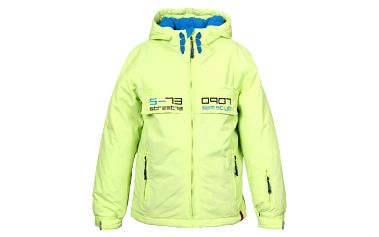 Zářivě žlutá chlapecká bunda SAM 73 BB 25 320 sportovního střihu