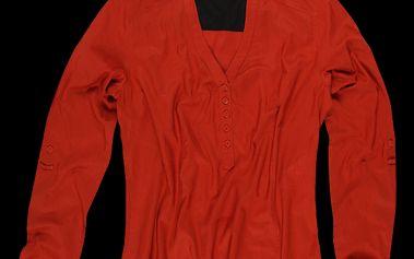 Dámská cihlová košile SAM 73 WE 26 180 atraktivního střihu