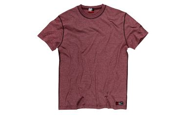 Pohodlné pánské tričko SAM 73 MT 354 150M s dekorativním prošitím rukávů