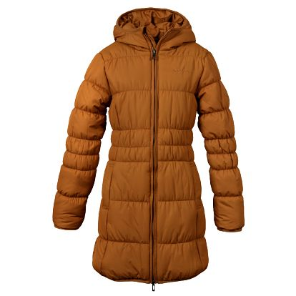Dívčí kabát SAM 73 GB 26 310 atraktivního střihu s kapucí