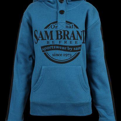 SAM 73 Chlapecká mikina BM 22 230 - modrá