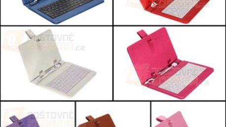 Pouzdro na tablet s USB klávesnicí pro 7″ tablety - více barev a poštovné ZDARMA! - 9505684