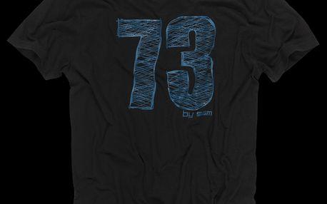 SAM 73 Pánské tričko MT 348 500 - černá
