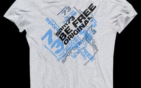 Pánské bavlněné tričko SAM 73 MT 352 401M oblíbeného střihu