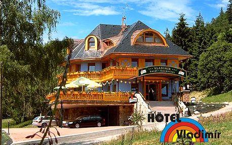 Letní dovolená v Krkonoších*** – 3 dny pro dva s polopenzí přímo pod Černou horou
