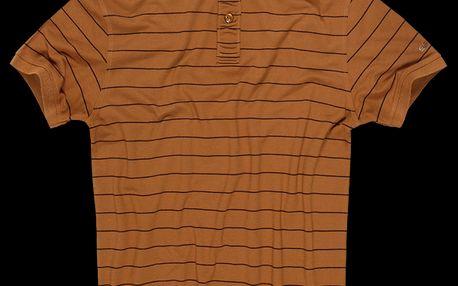 SAM 73 Pánské tričko MT 349 310 - okrová tmavá