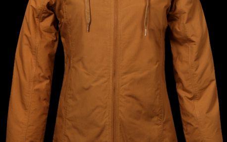 Dámský tmavě okrový 3/4 kabát SAM 73 WB 203 310 oblíbeného střihu