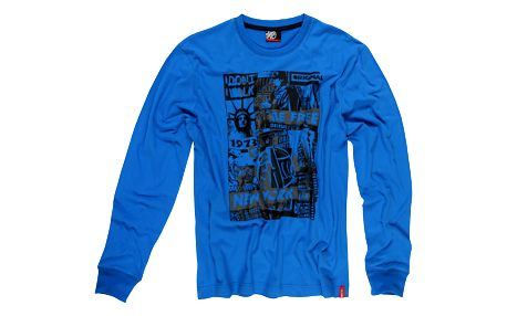 SAM 73 Pánské tričko MT 347 220 - modrá jasná