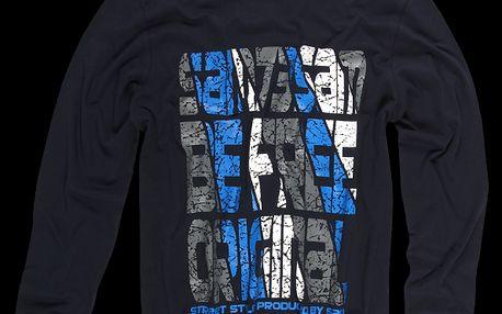 Pánské bavlněné tričko SAM 73 MT 350 240 s dlouhým rukávem