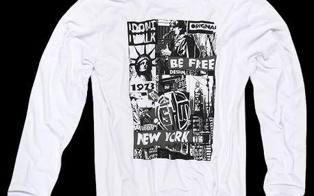 SAM 73 Pánské tričko MT 347 000 - bílá