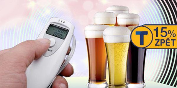 Digitální bezkontaktní alkohol tester za 149 Kč!