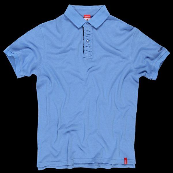 SAM 73 Pánské triko s límečkem MT 333 215 - modrá světlá