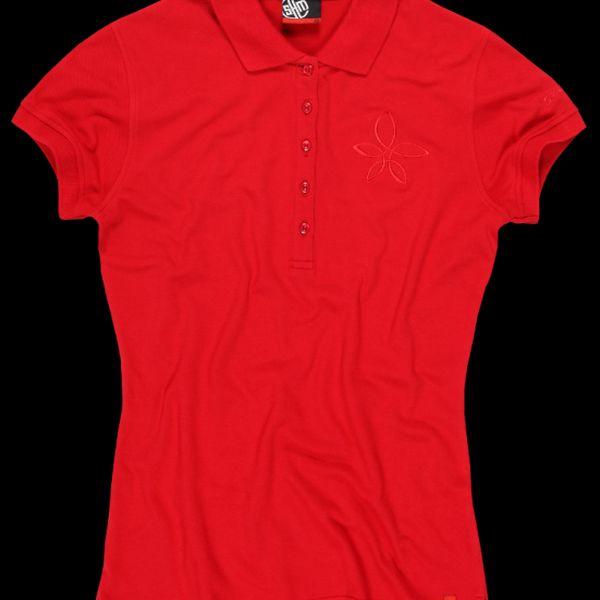 SAM 73 Dámské tričko WT 438 135 - červená