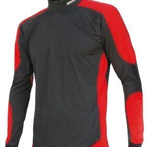 Sensor Thermo triko EVO dlouhý rukáv pánský černá/červená