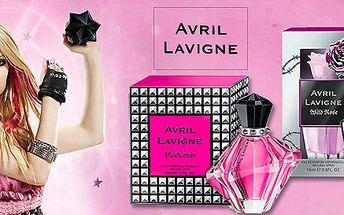 2 vůně Avril Lavigne - EDP Wild Rose a Black Star