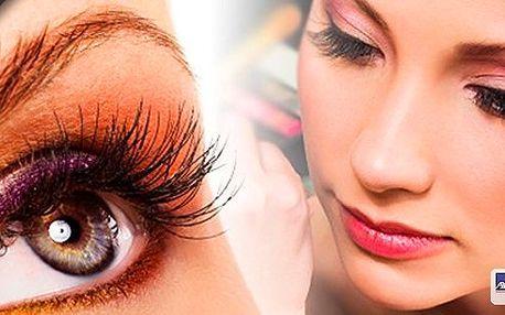 Prodloužení řas dvěma metodami: Semipermanentní nátěr na řasy Sexy look Mascara nebo Sexy Lashes Express - nový revoluční způsob 3D prodloužení řas.