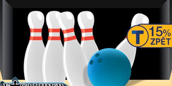 Dvě hodiny bowlingu za 129 Kč!