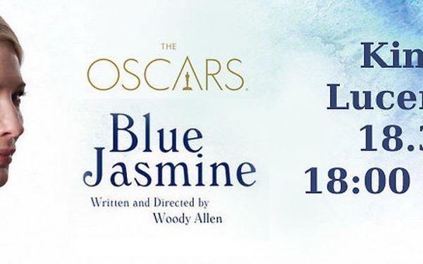 2 vstupenky na film W. Allena Jasmíniny slzy
