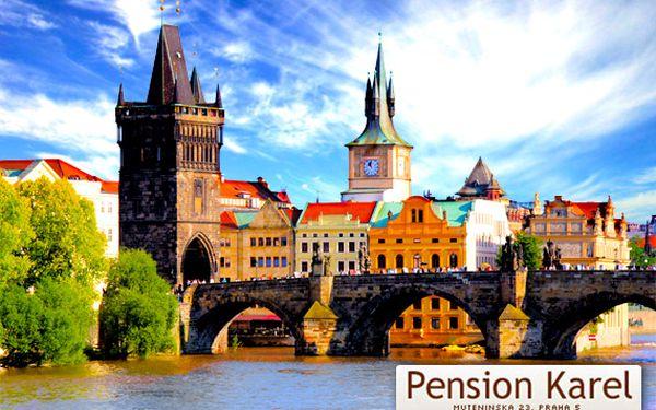 Praha – útulný penzion se snídaní pro dva