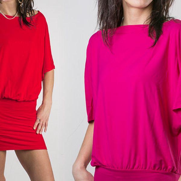 Nápadité dámské šaty – 7 barev