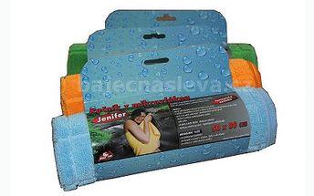 Set speciálních ručníků jen za 219 Kč. Speciální lehké mikrovlákno lépe saje než klasické froté ručníky. Navíc jsou ručníky ultratenké a dobře skladné. Skvělé na dovolenou a k vodě!