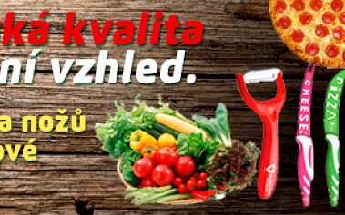 Značková sada švýcarských nožů: 7x nůž + škrabka