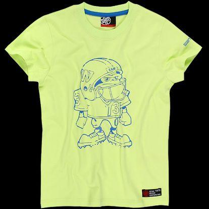 Chlapecké triko SAM 73 BT 35 320 žluté