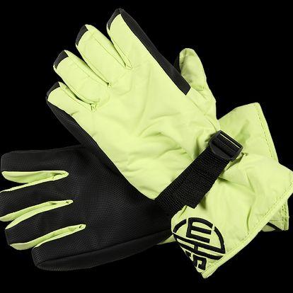 SAM 73 Pánské rukavice MR 22 320 - žlutá jasná