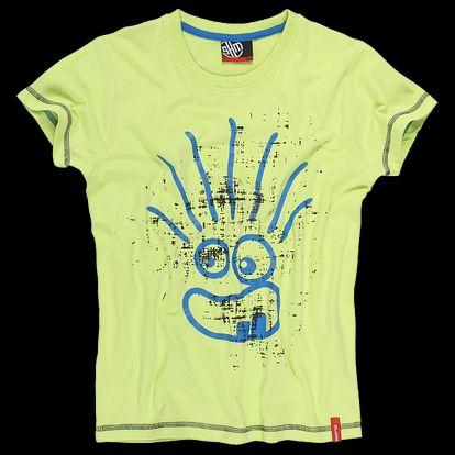 Chlapecké triko SAM 73 BT 36 320 žluté