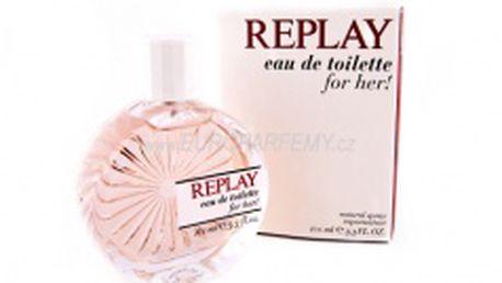 Replay Woman - toaletní voda s rozprašovačem 20 ml