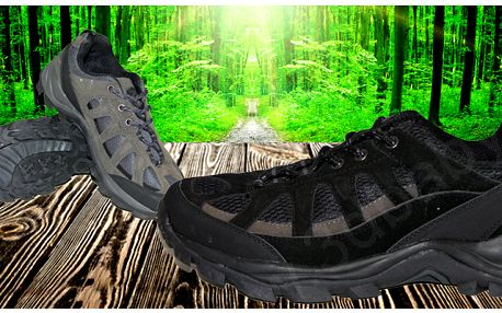 Pánské trekové boty s dopravou zdarma
