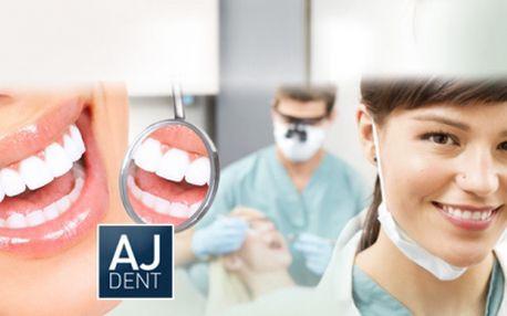 Profesionální DENTÁLNÍ HYGIENA včetně OZONOTERAPIE pro Váš zdravý a zářivý úsměv! Až 60min. BEZBOLESTNÝ zákrok v moderní ordinaci AJ Dent na Praze 3 za 649 Kč! Odstranění plaku, zubního kamene i léčení oparů!