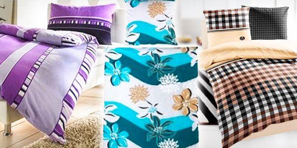 Bavlněné ložní povlečení: Německá kvalita - 3 různé varianty